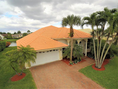 Boca Raton FL Single Family Home For Sale: $530,000