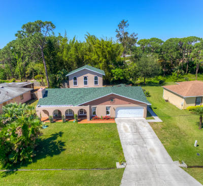 Port Saint Lucie Single Family Home For Sale: 1992 SW Brisbane Street