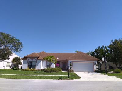 Boca Raton FL Single Family Home For Sale: $417,000