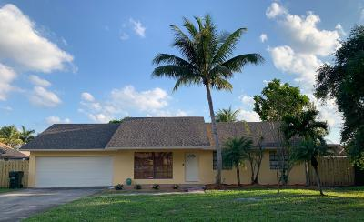 Delray Beach FL Single Family Home For Sale: $384,900