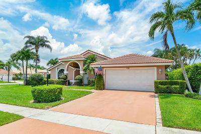 Delray Beach Single Family Home For Sale: 5745 Aspen Ridge Court