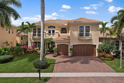 Palm Beach Gardens Single Family Home For Sale: 117 Abondance Drive