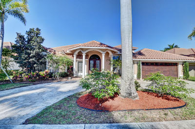 Boca Raton Single Family Home For Sale: 19239 Redberry Court