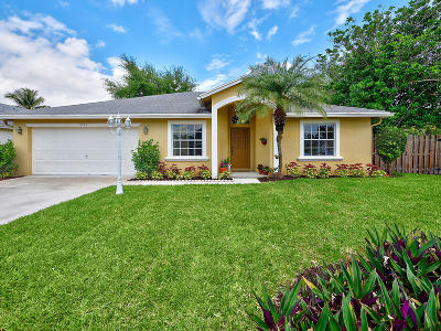 West Palm Beach Single Family Home For Sale: 5149 Willow Pond Road W
