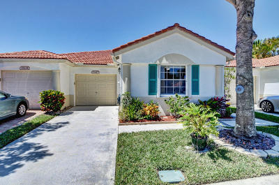 Delray Beach Single Family Home For Sale: 15427 Watershore Lane
