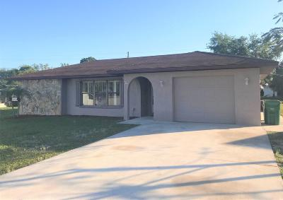 Port Saint Lucie Single Family Home For Sale: 1419 SE Grapeland Avenue