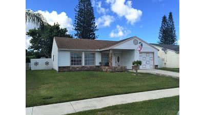Lake Worth, Lakeworth Single Family Home For Sale: 7835 Canal Drive