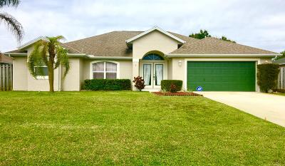 Port Saint Lucie Single Family Home For Sale: 2350 SW Frisco Terrace
