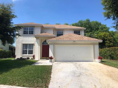 Boynton Beach Single Family Home For Sale: 9027 Cavatina Place