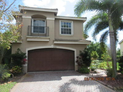 Boynton Beach Single Family Home For Auction: 8789 Morgan Landing Way
