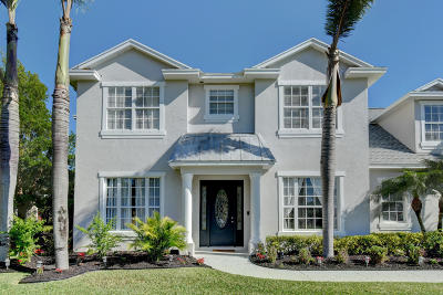 Port Saint Lucie Single Family Home For Sale: 5811 NW Windy Pines Lane