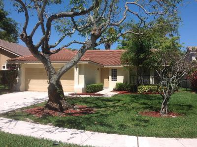 Boca Raton Rental For Rent: 10739 Santa Laguna Drive