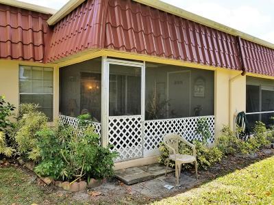 Lake Worth Condo For Sale: 312 Cape Cod Circle