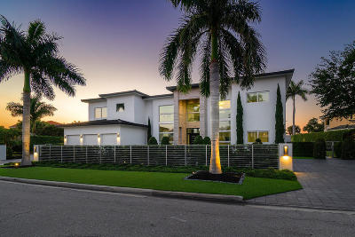 Boca Raton  Single Family Home For Sale: 499 Royal Palm Way