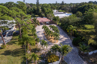 Lake Worth Single Family Home For Sale: 5132 2nd Road