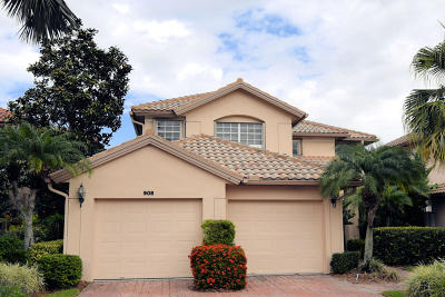 Palm Beach Single Family Home For Sale: 908 Augusta Pointe Drive