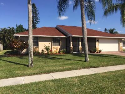 West Palm Beach Single Family Home For Sale: 143 Galilano Street