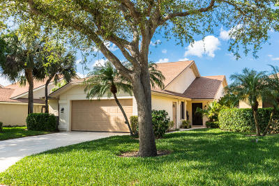 Jupiter Single Family Home For Sale: 119 Ridge Road
