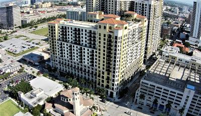 West Palm Beach Condo For Sale: 801 S Olive Avenue #709