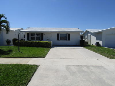 Boynton Beach Single Family Home For Sale: 1401 SW 22nd Street