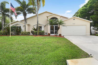 Port Saint Lucie Single Family Home For Sale: 3132 SW Collings Drive