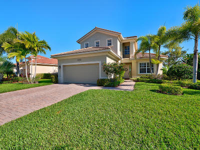 Palm Beach Gardens Single Family Home For Sale: 12252 Aviles Circle