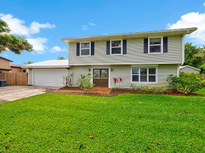 West Palm Beach FL Single Family Home Contingent: $344,500