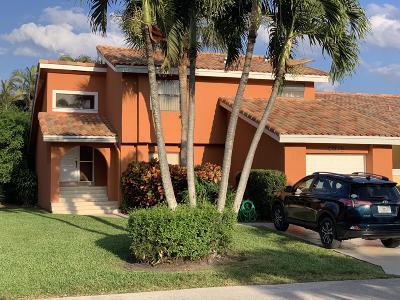 Boca Raton Townhouse For Sale: 20844 Del Luna Drive