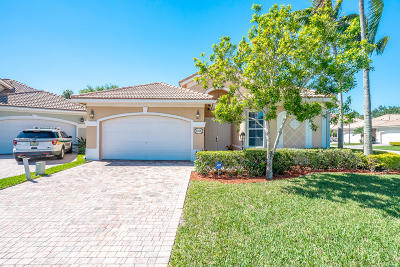 West Palm Beach Single Family Home For Sale: 8756 Bearing Point