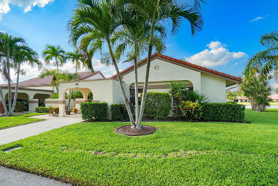 Boynton Beach Single Family Home For Sale: 5713 Parkwalk Circle E