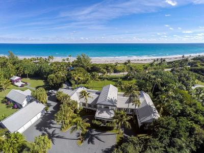 Hobe Sound Single Family Home For Sale: 372 S Beach Road
