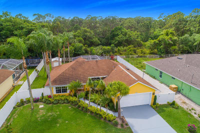 Port Saint Lucie Single Family Home For Sale: 1826 SW Leafy Road