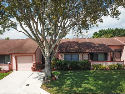 Boynton Beach Single Family Home For Sale: 6 Rogart Circle