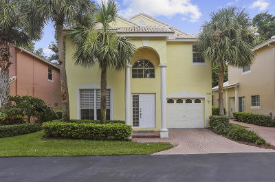 Boca Raton Townhouse For Sale: 7275 Panache Way