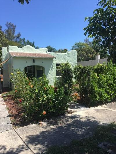 West Palm Beach Single Family Home For Sale: 3602 Greenwood Avenue