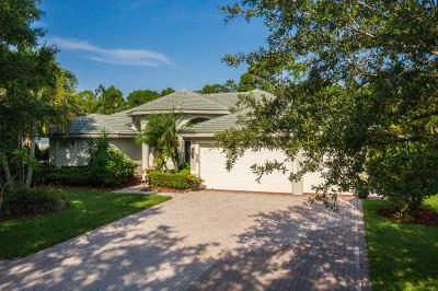 Palm City Single Family Home For Sale: 4666 SW Hammock Creek Drive