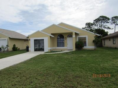 Stuart Single Family Home For Sale: 5605 SE Collins Avenue