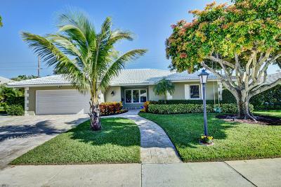 Boca Raton FL Single Family Home For Sale: $775,000