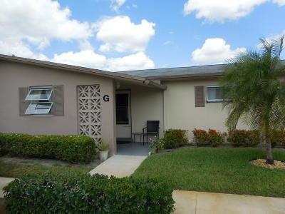 West Palm Beach Condo For Sale: 2673 Barkley Drive E #G