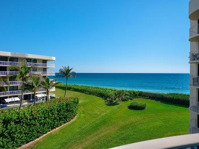Palm Beach Condo For Sale: 3360 S Ocean Boulevard #4 B I