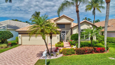 Boynton Beach FL Single Family Home For Sale: $504,900