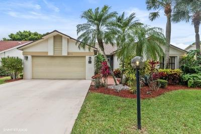 Delray Beach FL Single Family Home For Sale: $279,000