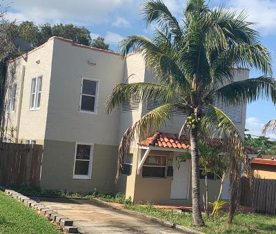 West Palm Beach Multi Family Home For Sale: 924 McIntosh Street S