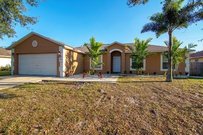 Port Saint Lucie Single Family Home For Sale: 750 SW Jacoby Avenue