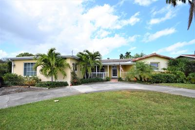 Boynton Beach Single Family Home For Sale: 711 SW 27th Way