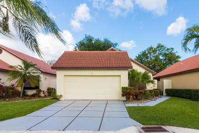 Palm Beach Gardens Single Family Home For Sale: 4 Ironwood Way