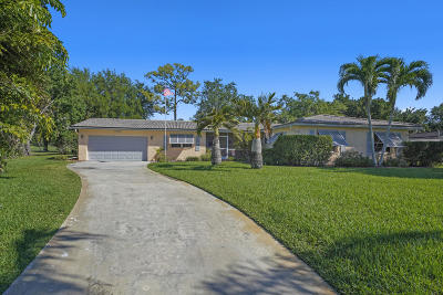 Lake Worth Single Family Home Contingent: 7733 St Andrews Road