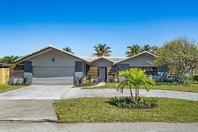 Riviera Beach Single Family Home For Sale: 1230 Gulfstream Way