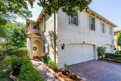 Coconut Creek Townhouse For Sale: 3717 Asperwood Circle