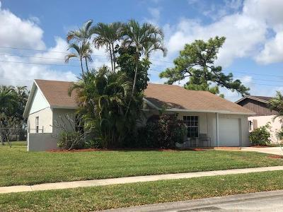 West Palm Beach Single Family Home For Sale: 1179 Fernlea Drive